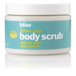 Bliss Lemon + Sage Body Scrub Body Exfoliants_bliss