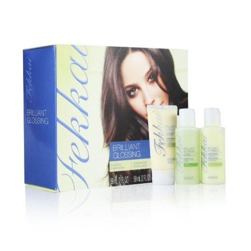 Brilliant Glossing Starter Kit(Shampoo, Conditioner, and Styling Cream)_fekkai